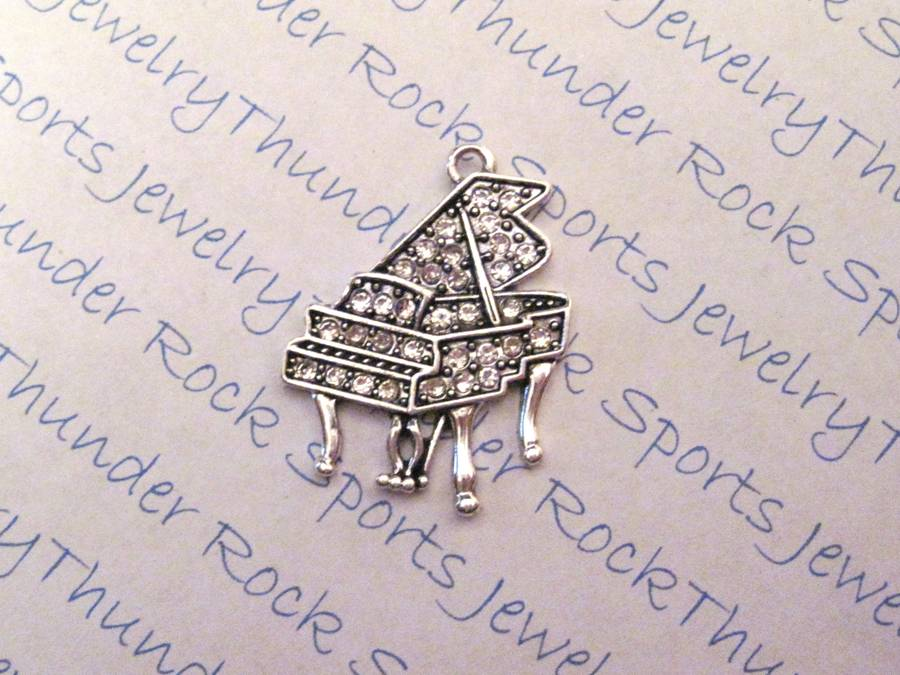 Piano Crystal Pendant
