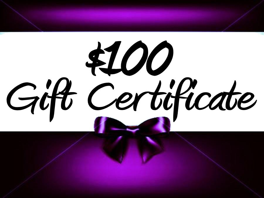 Thunder Rock Sports Jewelry $100. E~Gift Certificate