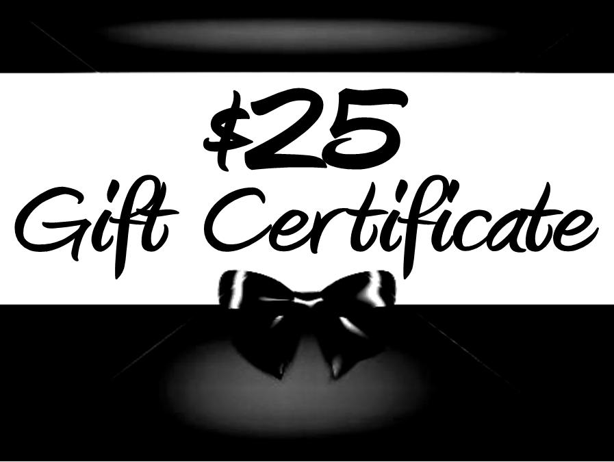 Thunder Rock Sports Jewelry $25. E~Gift Certificate