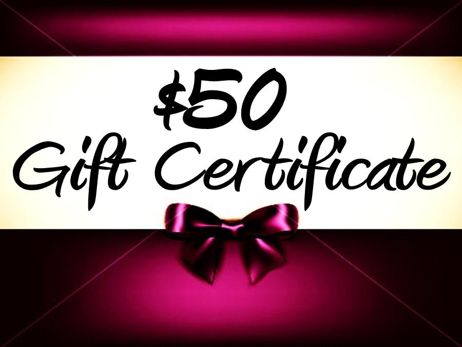 Thunder Rock Sports Jewelry $50. E~Gift Certificate