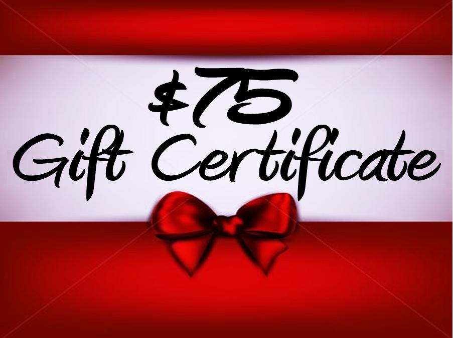 Thunder Rock Sports Jewelry $75. E~Gift Certificate