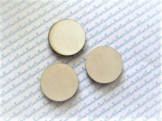 25 Wood Circles 1 inch Blanks