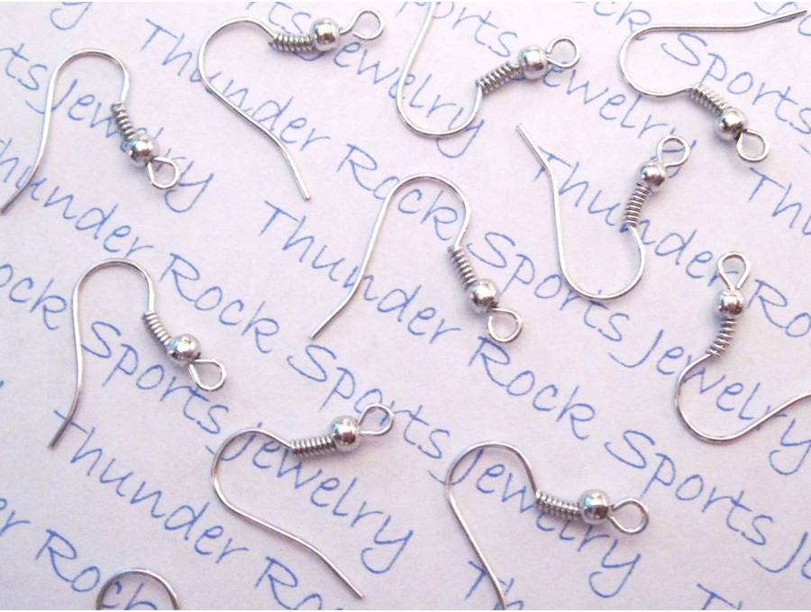 Silver Plated French Hook Ear Wires